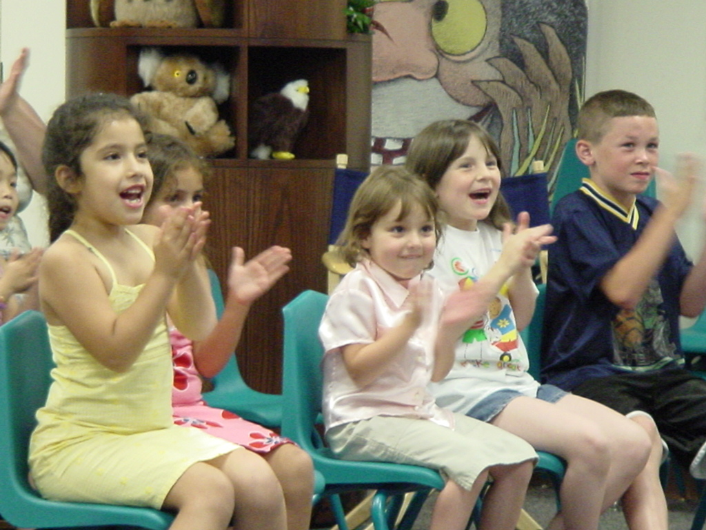 Clapping KidAudience Of Children Clapping