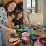 Jessica Heisen sets up Cookie Design Fun with Ryan Munro, 6