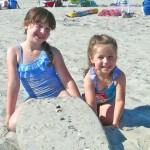 Ryan and Sari on the beach P1650849